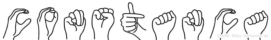 Constanca in Fingersprache für Gehörlose