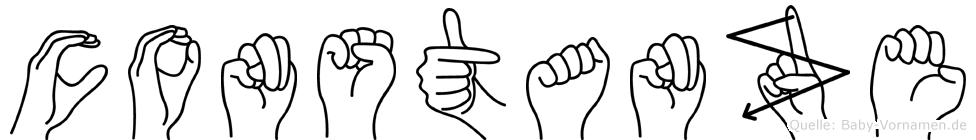 Constanze in Fingersprache für Gehörlose