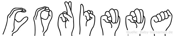 Corinna in Fingersprache für Gehörlose