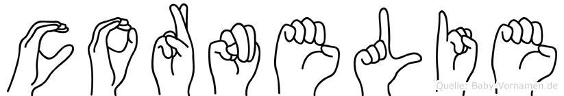 Cornelie in Fingersprache für Gehörlose