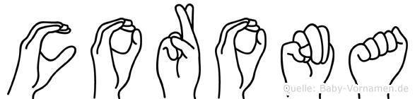 Corona in Fingersprache für Gehörlose