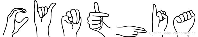 Cynthia in Fingersprache für Gehörlose