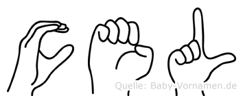Cäel in Fingersprache für Gehörlose