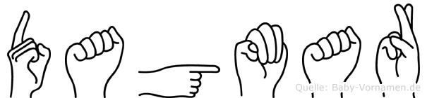 Dagmar in Fingersprache für Gehörlose
