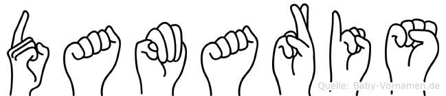 Damaris in Fingersprache für Gehörlose
