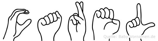 Carel in Fingersprache für Gehörlose