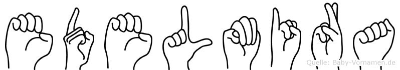 Edelmira in Fingersprache für Gehörlose
