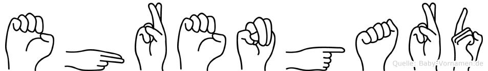 Ehrengard in Fingersprache für Gehörlose
