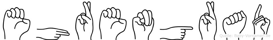 Ehrengrad in Fingersprache für Gehörlose