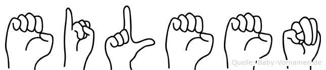 Eileen in Fingersprache für Gehörlose