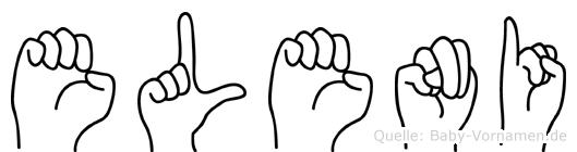 Eleni in Fingersprache für Gehörlose