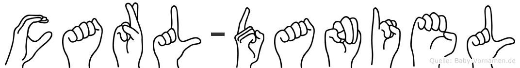 Carl-Daniel im Fingeralphabet der Deutschen Gebärdensprache
