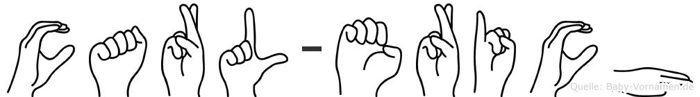 Carl-Erich im Fingeralphabet der Deutschen Gebärdensprache
