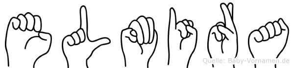 Elmira in Fingersprache für Gehörlose