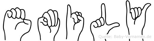 Emily in Fingersprache für Gehörlose