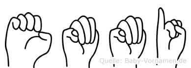 Emmi in Fingersprache für Gehörlose