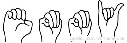 Emmy in Fingersprache für Gehörlose