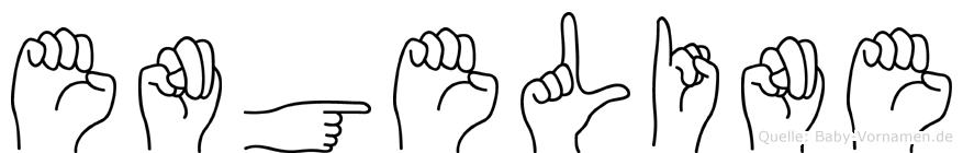 Engeline in Fingersprache für Gehörlose