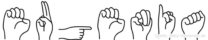 Eugenia in Fingersprache für Gehörlose