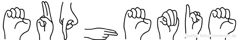 Euphemie in Fingersprache für Gehörlose