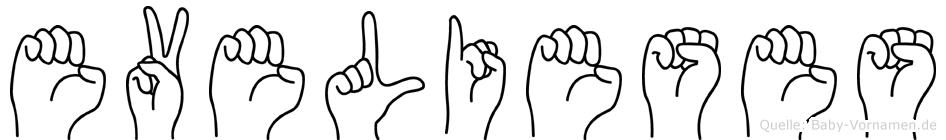 Evelieses in Fingersprache für Gehörlose