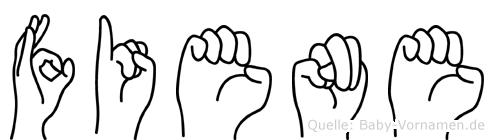 Fiene in Fingersprache für Gehörlose
