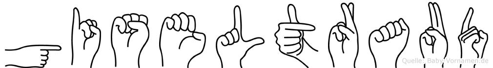 Giseltraud im Fingeralphabet der Deutschen Gebärdensprache