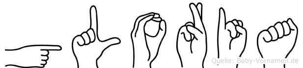 Gloria in Fingersprache für Gehörlose