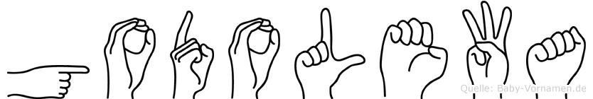 Godolewa in Fingersprache für Gehörlose