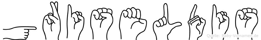 Griseldis in Fingersprache für Gehörlose