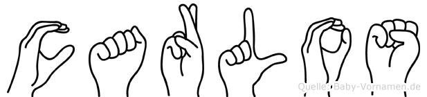 Carlos in Fingersprache für Gehörlose