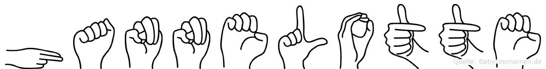 Hannelotte in Fingersprache für Gehörlose