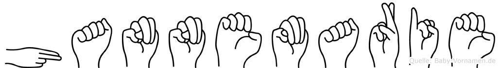 Hannemarie in Fingersprache für Gehörlose