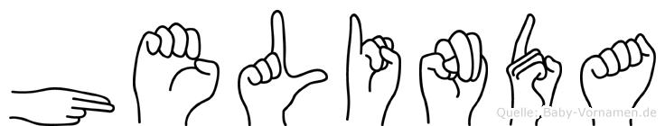 Helinda in Fingersprache für Gehörlose