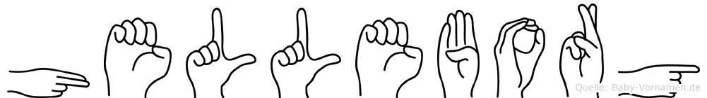 Helleborg in Fingersprache für Gehörlose