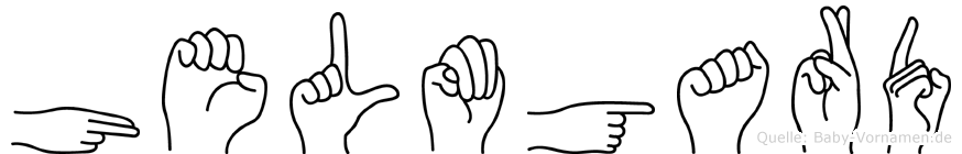 Helmgard in Fingersprache für Gehörlose