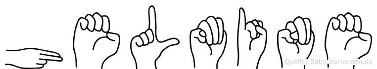 Helmine in Fingersprache für Gehörlose