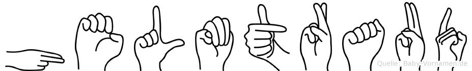 Helmtraud in Fingersprache für Gehörlose