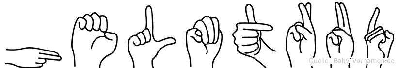 Helmtrud in Fingersprache für Gehörlose
