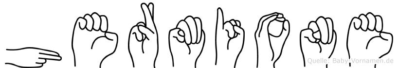 Hermione in Fingersprache für Gehörlose