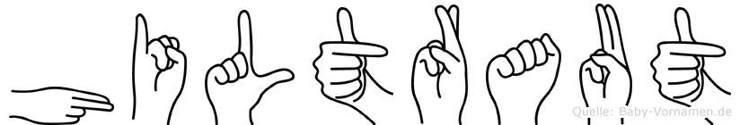 Hiltraut in Fingersprache für Gehörlose