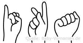 Ika in Fingersprache für Gehörlose