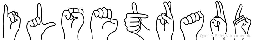 Ilsetraud in Fingersprache für Gehörlose