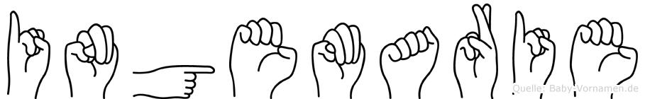 Ingemarie in Fingersprache für Gehörlose