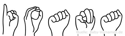 Ioana in Fingersprache für Gehörlose