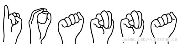 Ioanna in Fingersprache für Gehörlose