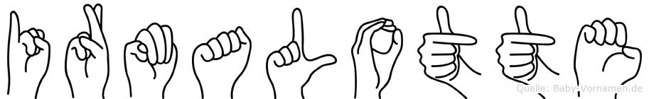Irmalotte in Fingersprache für Gehörlose