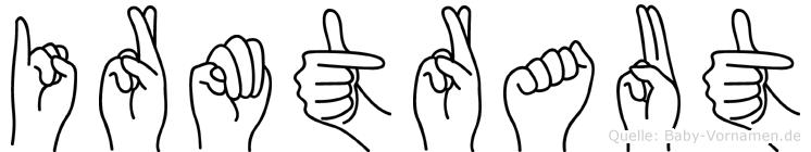 Irmtraut im Fingeralphabet der Deutschen Gebärdensprache