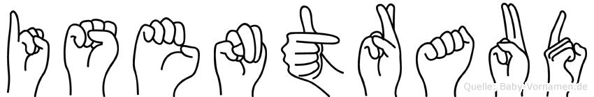 Isentraud in Fingersprache für Gehörlose