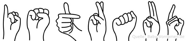 Istraud in Fingersprache für Gehörlose